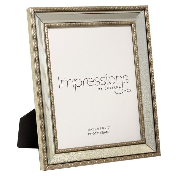 Traditional Mirror Patterned Glass Picture Photo Photograph Frame 8 ...